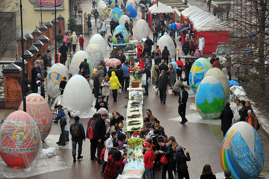 Easter in Russia 18.04.2017
